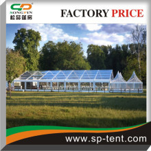 Super size 20x35m Clear PVC tents reception for 500 people