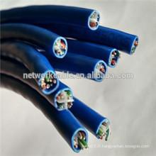 Câbles LAN UTP Cat6 de 0,5 mm CCA pour STB