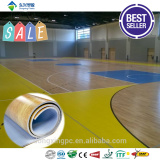 Indoor basketball court material synthetic sports flooring