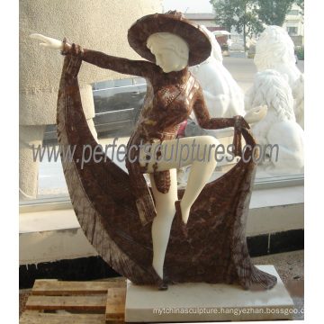Stone Marble Carving Sculpture Statue for Garden Decoration (SY-C1171)