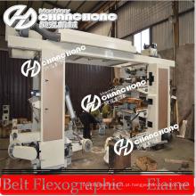 Máquina de impressão flexográfica com sistema de tinta automática Doctor Blade