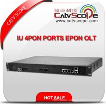 Профессиональный поставщик Высокая производительность Iu 4pon Порты Epon Olt
