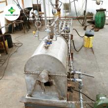Mini équipement de colonne de distillation d'huile brute d'acier inoxydable exporté en Israël