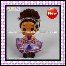 2013 neue Stil Kunststoff Mini-Puppe, Vinyl kleine Puppe