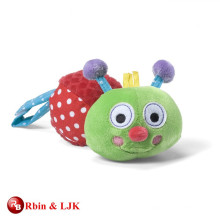custom promotional lovely baby toy caterpillar