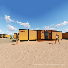 Maison de conteneur de 40 pieds fabriquée à la maison