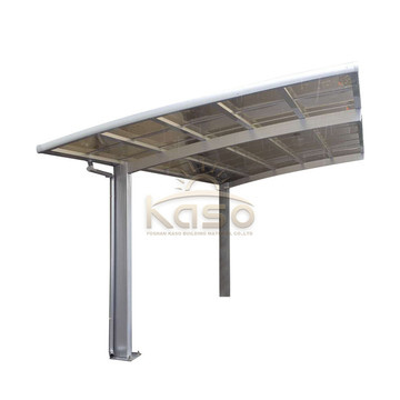 Car Wash Shelter Roof Policarbonato Aluminio Carport Design