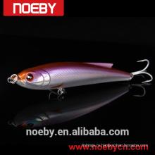 NOEBY ABS пластик жесткий карандаш приманка приманка рыбалка с крюками VMC