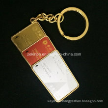 Custom High Quality Solid Keychain for Macao Casino′s VIP Member Souvenirs