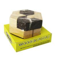 puzzle en bois iq / 3d puzzle en bois en forme de cerveau