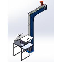 Banda transportadora magnética de PVC
