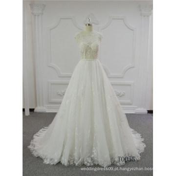 Sexy vestido de baile vestido de casamento vestido de noiva de renda vestido de noiva 2017
