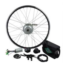 China CE 250W motor de cubo LCD o LED pantalla rápido venta de bicicletas eléctricas kit de conversión