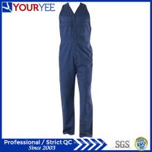 Baumwollbohrer-Schwergewichts-Frauen-Arbeitskleidung-Sleeveless Overalls (YBD120)