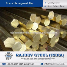 Widely Appreciate Brass Hexagonal Bar for Various Industrial Applications