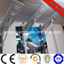 Chine Prix direct de vente directe d'usine tout dans un solaire solaire de la lumière 30W de lumière de rue intégrée