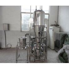 2017 FLP serie multifunción granulador y revestidor, SS secador de lecho fluidizado de trabajo, secador vertical de aire forzado