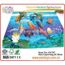 2011 nuevos animales de plástico Juguetes Océano Animal