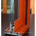 Polimento Construção de grão de madeira Perfil de alumínio Perfil da porta Perfil de alumínio