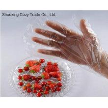 Guantes de plástico PE para productos alimenticios