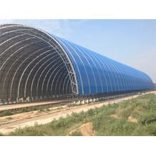Prefab Light Steel Fabrication Aircraft Hangar Project