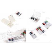 Mini kit de costura de viagem Kit de costura de hotel