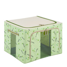 Green Nylon Storage Bag Folding Waterproof Storage Box (HX-W002S)
