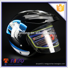 Quality assured full-face black China motorcycle helmets for sale