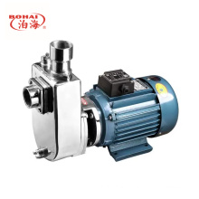 Pompe centrifuge auto-amorçante en acier inoxydable
