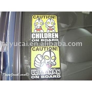 removable bumper stickers