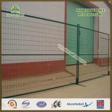 Bau Grüne temporäre Zaun Panel / Fechten