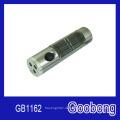 3 LEDs Metall Aluminium Solar Taschenlampe