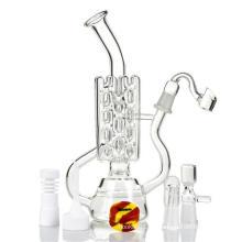 Retikulierte Pipeline Perc Öl Rig Glas Rauchen Wasser Rohr (ES-GB-418)