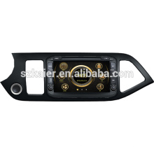 New car gps player for KIA picanto with GPS/Bluetooth/Radio/SWC/Virtual 6CD/3G internet/ATV/iPod/DVR