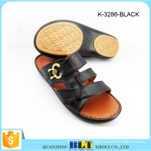 Bestting Buckle Men Tropical Slippers