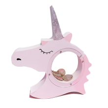 OEM/ODM for Childrens Wooden Toys Wooden Unicorn Piggy Bank Money Coin Box supply to Brazil Manufacturer