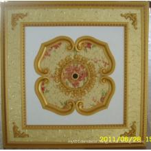 Burgundy&Gilt Bracade Decorative Artistic Ceiling Dl-1114-15
