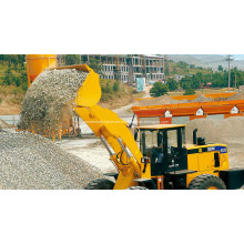 Cargadora de ruedas de 5 toneladas para maquinaria de construcción