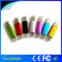 Christmas Gift Colorful OTG USB 2.0 Disk Flash Drive for Mobile Phone