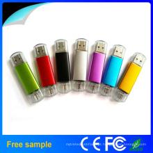 Presente de Natal colorido OTG USB 2.0 disco flash drive para celular