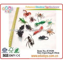 Insectos de plástico juguetes educativos de animales en Stock