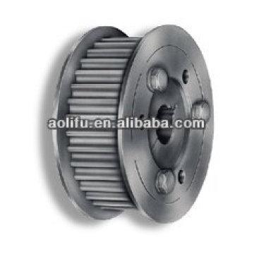 Poulies de chronométrage industriel moteur aluminium