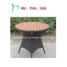 Мебель Круглый Ротанга Стол Из Тикового Дерева (2042)