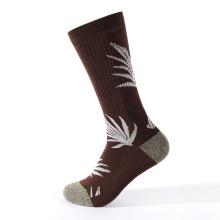 chaussettes de compression jacquard aiguille à tricoter
