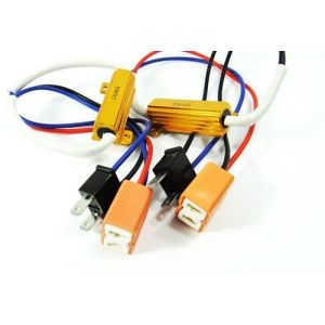 LED Xenon Mistlamp HeadLight Wire Harness
