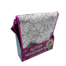 saco de pintura não tecida para crianças, faça seu próprio saco de mensageiro