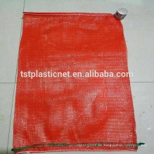 best price sale for Softwood Packaging Bag mesh bag for potato