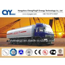 Chine LNG Semi-remorque à citerne à oxygène liquide à oxygène liquide