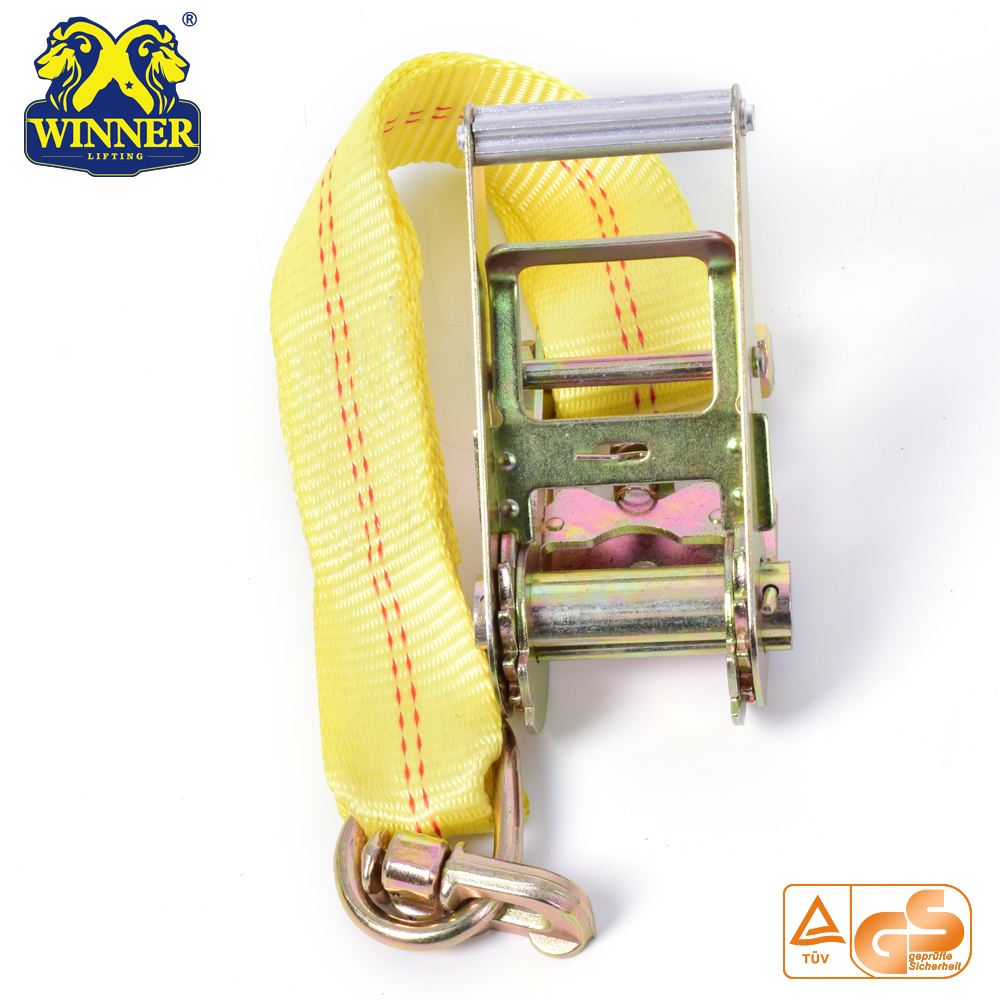 Industrial Heavy Duty Polyester Ratchet Tie Down Strap