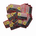 Rmanent Adhesive Irremovable Vinyl Sticker / Custom Printing White Vinly Matériau Label